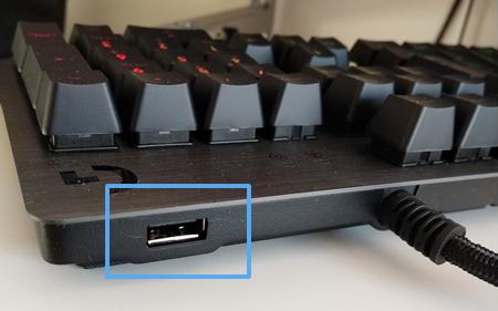 オススメの有線キーボード「ロジクール G512」USB